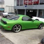 Mazda Rx7 FD3 Matte V Green